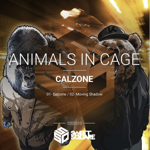ANIMALS IN CAGE, CALZONE